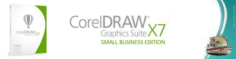 Nowość! CorelDRAW Graphics Suite X7 Small Business Edition