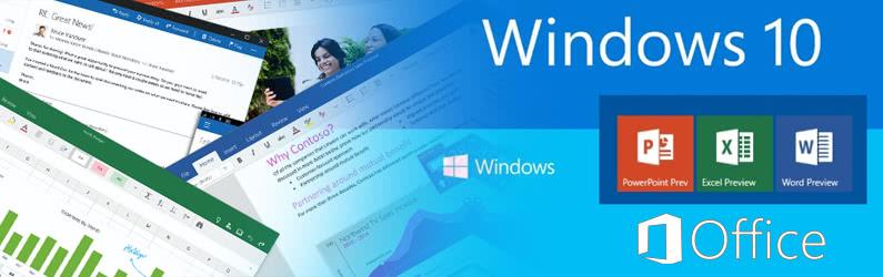 W oczekiwaniu na pakiet Office dla Windows 10