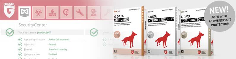 G Data udostępni aktualizacje swoich pakietów