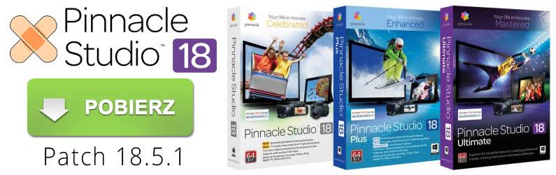 Nowy patch Pinnacle Studio 18 już dostępny