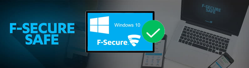 F-Secure SAFE ochroni Windows 10