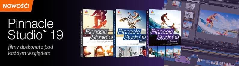 Gorąca premiera – Pinnacle Studio 19!