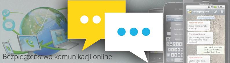 Bezpieczeństwo komunikacji online