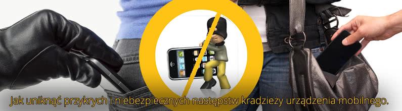 Co robić w razie kradzieży smartfona?
