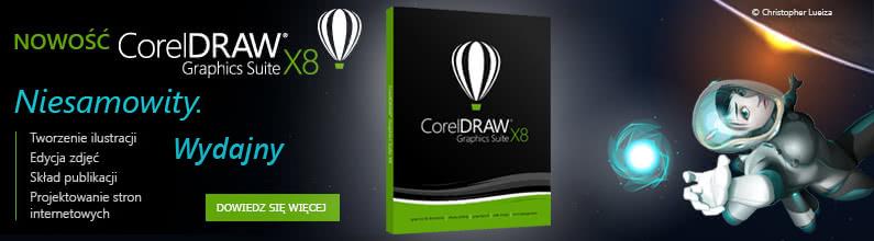 Przedsprzedaż CorelDRAW Graphics Suite X8