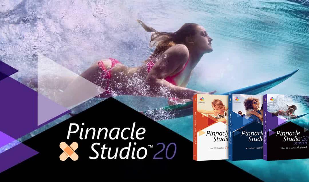 Nowa łatka Pinnacle Studio 20 już dostępna