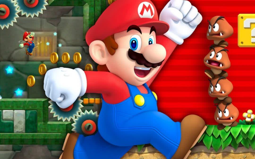 Uwaga na aplikację Super Mario!