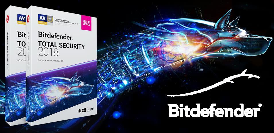 Bitdefender Total Security najlepszym programem maja 2018