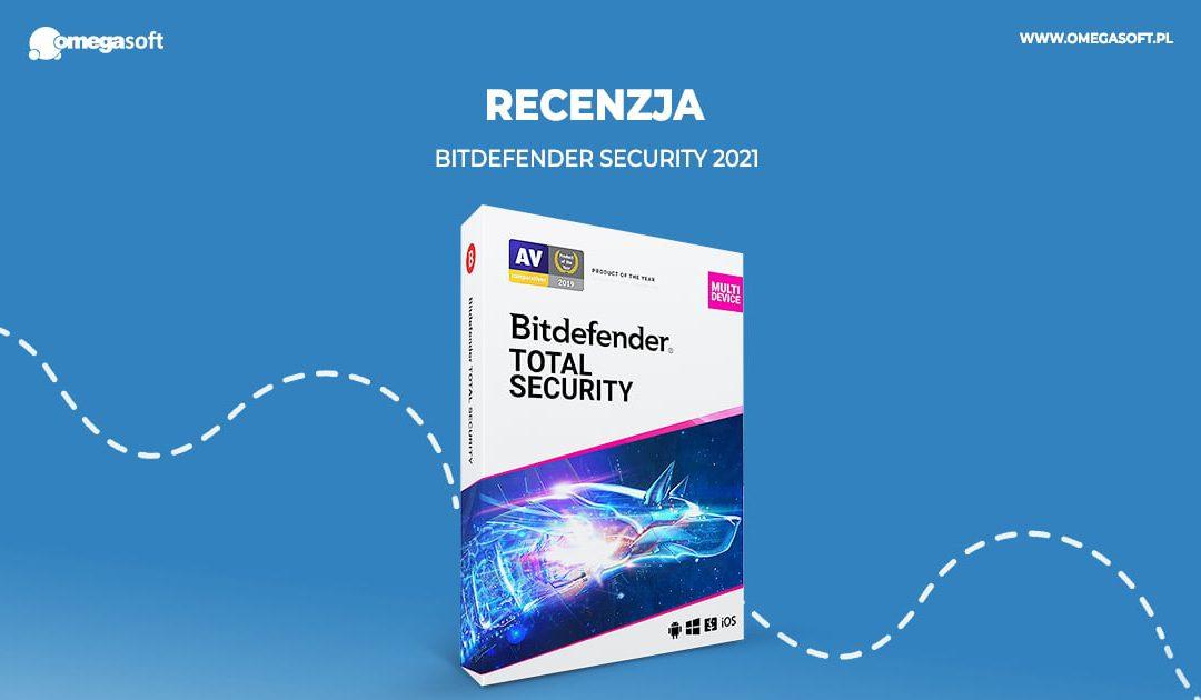 Bitdefender Security 2021 – recenzja