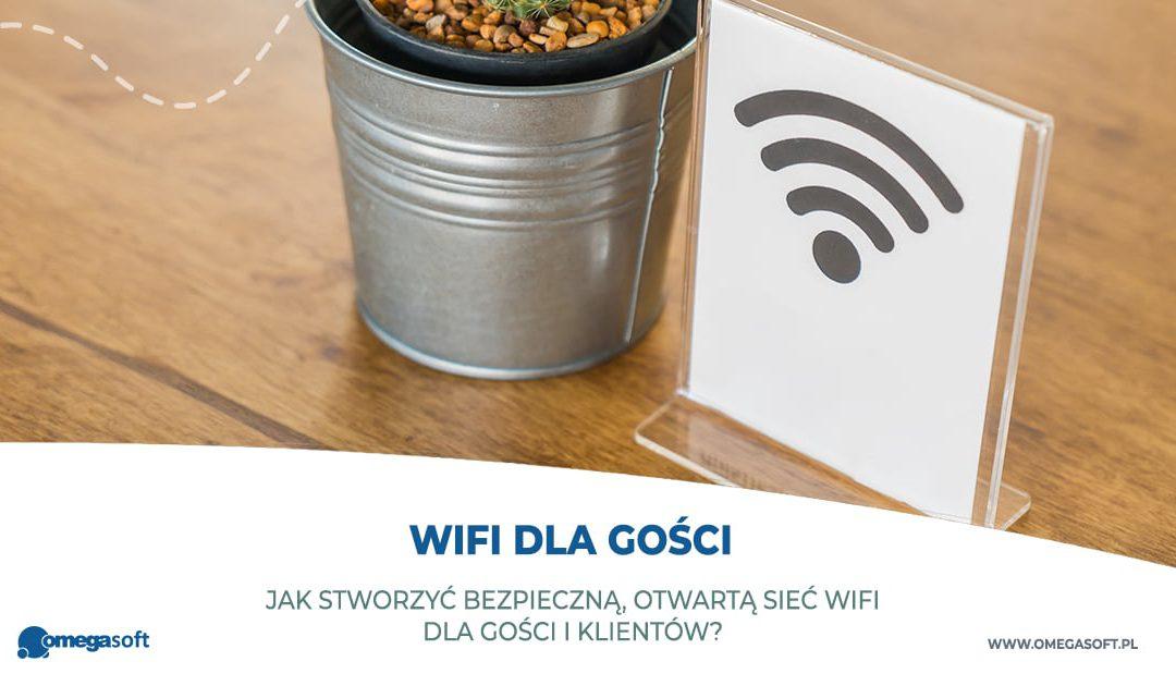 Jak stworzyć bezpieczną, otwartą sieć WiFi dla gości i klientów?