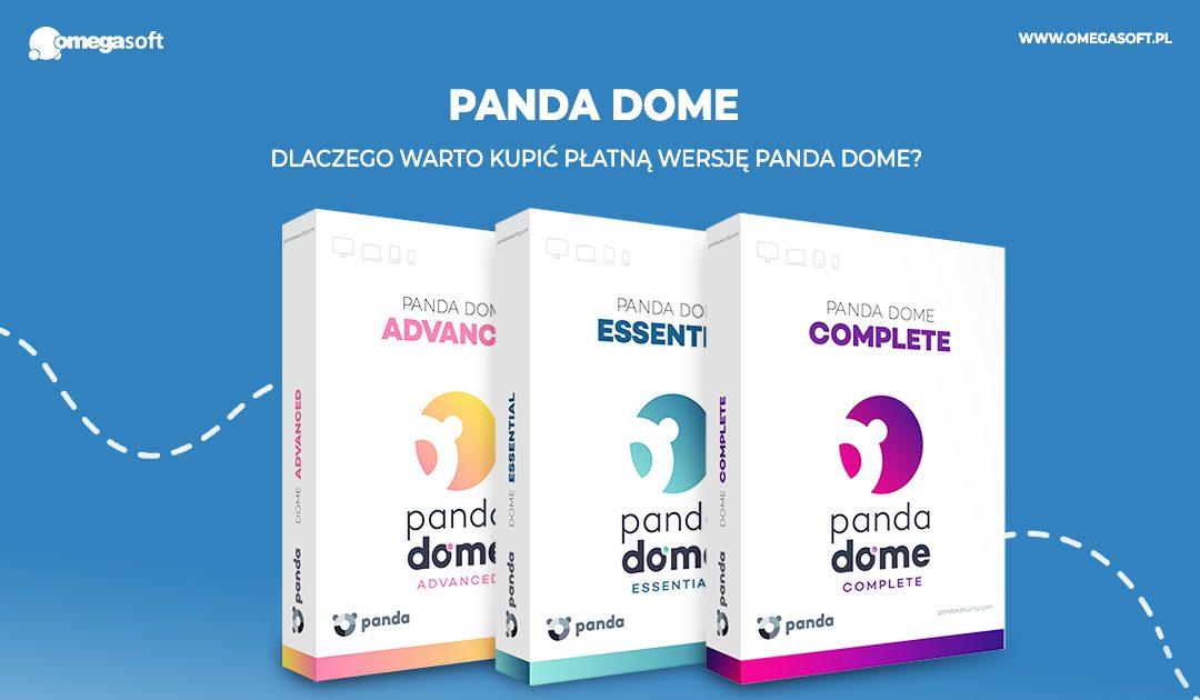 Dlaczego warto kupić płatną wersję Panda Dome?