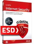 G Data Internet Security 2018 PL (3 stanowiska, 24 miesiące) - wersja elektroniczna