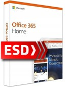 Office 365 PL dla Użytkowników Domowych (6 stanowisk, subskrypcja na 12 miesięcy) ESD