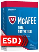 McAfee Total Protection 2018 PL (10 stanowisk 12 miesięcy) - wersja elektroniczna