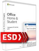 Office 2019 dla Użytkowników Domowych i Uczniów PL ESD