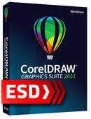 CorelDRAW Graphics Suite 2021 PL ESD (1 stanowisko)