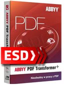 Abbyy PDF Transformer+ PL EDU - wersja elektroniczna