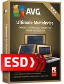 AVG Ultimate MD 2021 (10 stanowisk, 24 miesiące) - wersja elektroniczna