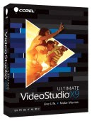 Corel VideoStudio Pro X9 ML Ultimate BOX