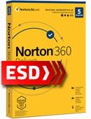 Norton 360 Deluxe 2021 PL (5 stanowisk, odnowienie na 12 miesięcy) - wersja elektroniczna