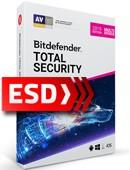 Bitdefender Total Security 2019 PL Multi-Device (5 stanowisk, 36 miesięcy) - wersja elektroniczna