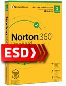 Norton 360 Standard 2021 PL (1 stanowisko, odnowienie na 12 miesięcy) - wersja elektroniczna
