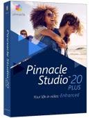 Pinnacle Studio 20 PL Box Plus Upgrade - aktualizacja od wersji 9,10,11,12,14,15,16,17, 18, 19