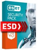 ESET Security Pack 2019 (odnowienie 3 stanowiska + 3 Mobile, 36 miesięcy) - wersja elektroniczna