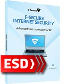 F-Secure Internet Security 2017 PL (3 stanowiska, odnowienie na 12 miesięcy) - wersja elektroniczna