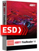 Abbyy FineReader 14 Standard PL EDU Upgrade - wersja elektroniczna