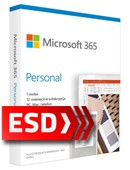 Microsoft (Office) 365 Personal (odnowienie subskrypcji na 12 miesięcy) ESD