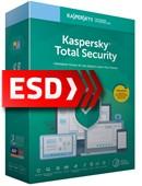 Kaspersky Total Security 2019 PL Multi-Device (3 stanowiska, 24 miesiące) - wersja elektroniczna