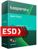 Kaspersky Anti-Virus 2021 PL (1 stanowisko, 12 miesięcy) - wersja elektroniczna