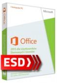 Office 2013 dla Użytkowników Domowych i Uczniów PL ESD