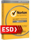 Norton Security Premium 2018 PL (10 stanowisk, 12 miesięcy) - wersja elektroniczna