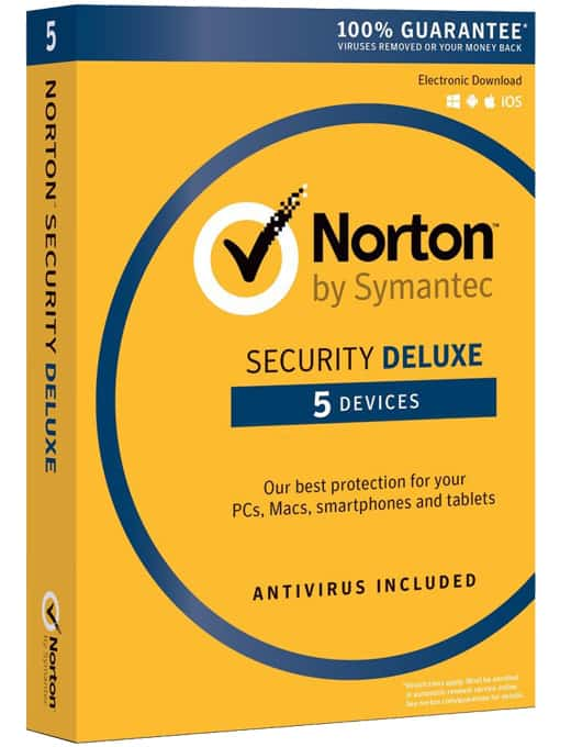 Norton security deluxe 2016 pl 5 stanowisk 12 miesi cy wersja