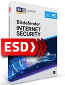 Bitdefender Internet Security 2019 PL (1 stanowisko, odnowienie na 12 miesięcy) - wersja elektroniczna