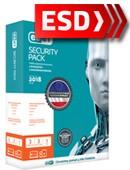 ESET Security Pack 2018 (3 stanowiska + 3 Mobile, odnowienie na 24 miesiące) - wersja elektroniczna