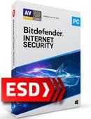 Bitdefender Internet Security 2021 PL (3 stanowiska, odnowienie na 36 miesięcy) - wersja elektroniczna