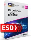 Bitdefender Total Security 2020 PL Multi-Device (10 stanowisk, odnowienie na 36 miesięcy) - wersja elektroniczna