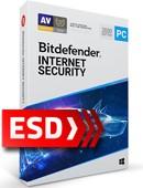 Bitdefender Internet Security 2020 PL (1 stanowisko, 15 miesięcy) - wersja elektroniczna