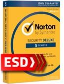 Norton Security Deluxe 2017 PL (5 stanowisk, odnowienie 12 miesięcy) - wersja elektroniczna