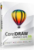 Corel Draw Graphics Suite X6 Special Edition PL Box