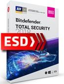 Bitdefender Total Security 2019 PL Multi-Device (10 stanowisk, 12 miesięcy) - wersja elektroniczna