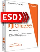 Office 365 PL Business (5 stanowisk, subskrypcja na 12 miesięcy) ESD
