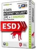 G Data Internet Security 2018 PL (2 PC + 2 Android, 20 miesięcy) - wersja elektroniczna EDYCJA SPECJALNA