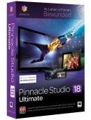 Pinnacle Studio 18 PL Box Ultimate Upgrade - aktualizacja od wersji 9,10,11,12,14,15,16,17