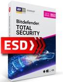 Bitdefender Total Security 2019 PL Multi-Device (5 stanowisk, 12 miesięcy) - wersja elektroniczna