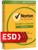 Norton Security Standard 2018 PL (1 stanowisko, odnowienie na 12 miesięcy) - wersja elektroniczna