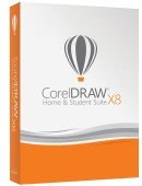 Corel Draw Home and Student Suite X8 PL Box